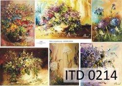Papier decoupage ITD D0214