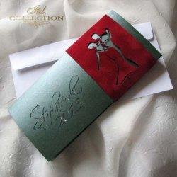 Zaproszenie studniówkowe ZS_72 z elegancką kopertą