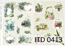 Papier decoupage ITD D0413M