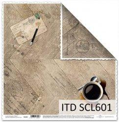 Papier scrapbooking SCL601