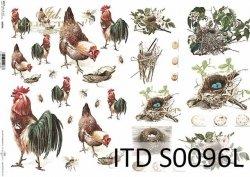 Papier decoupage SOFT ITD S0096L