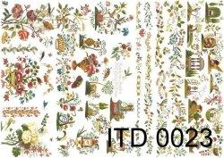 Papier decoupage ITD D0023