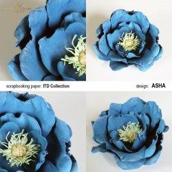 Kwiat ozdobny 2 - praca Asha