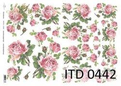 Papier decoupage ITD D0442M