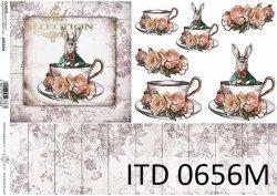 Papier decoupage ITD D0656M