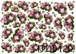 Papier decoupage ITD D0120