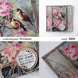 Kartka okolicznościowa Ptasi Chór - praca Asha