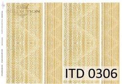 Papier decoupage ITD D0306
