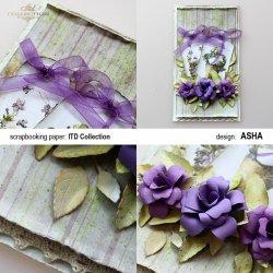 Kartka okolicznościowa Przyszła Wiosna - praca Asha