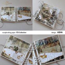 Ozdobne Albumy na Różne Okazje - prace Asha