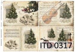 Papier decoupage ITD D0317