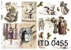 Papier decoupage ITD D0455M