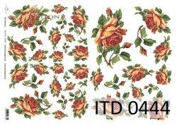 Papier decoupage ITD D0444