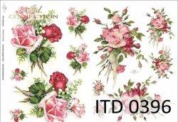 Papier decoupage ITD D0396
