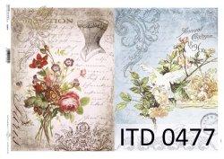 Papier decoupage ITD D0477