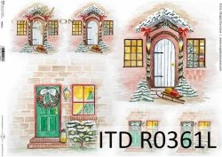 Papier ryżowy ITD R0361L