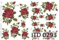Papier decoupage ITD D0293