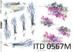 Papier decoupage ITD D0567M