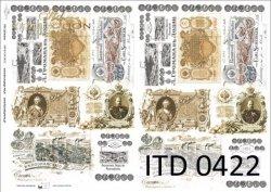 Papier decoupage ITD D0422M
