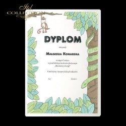 Dyplom dla najmłodszych * dżungla