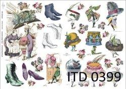 Papier decoupage ITD D0399