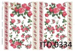 Papier decoupage ITD D0334
