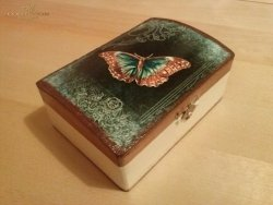 Pudełko Motyl
