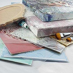 Serviettentechnik-Scrapbooking-Reispapier-Decoupage-Schablone