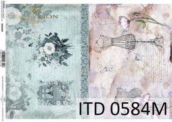 бумага для декупажа классическая D0584M