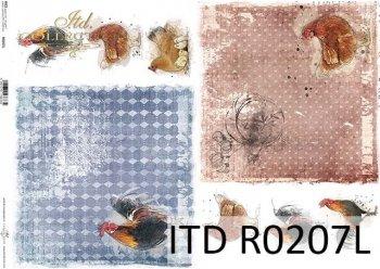 рисовая бумага для декупажа R0207L