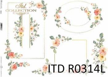 рисовая бумага для декупажа R0314L