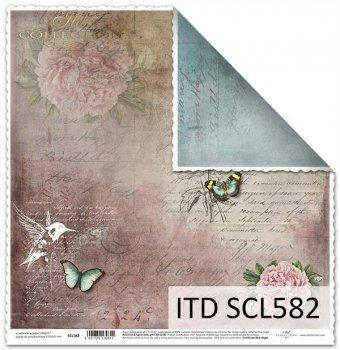Бумага для скрапбукинга SCL582