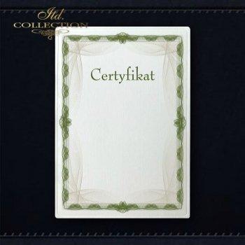 диплом DS0284 универсальный сертификат