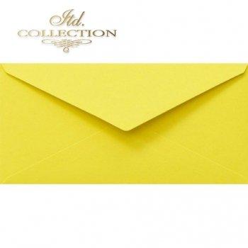 Конверт KP06.15 110x220 желтый