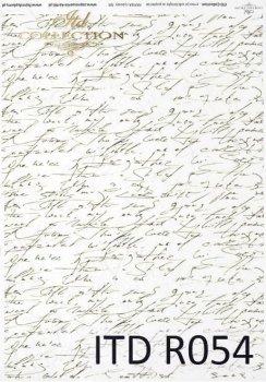 рисовая бумага для декупажа R0054