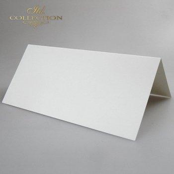 Заготовки для открыток BDK-006 натуральный белый