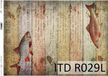 рисовая бумага для декупажа R0029L