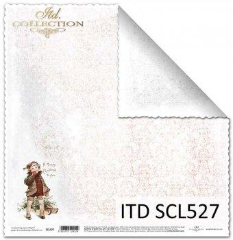 Бумага для скрапбукинга SCL527