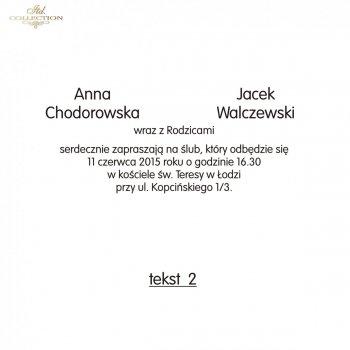 .text pro svatební oznámení - TS02