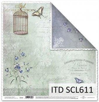 Бумага для скрапбукинга SCL611