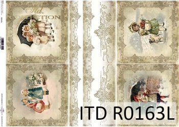 рисовая бумага для декупажа R0163L