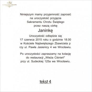 .text pro pozvánky na Křest - TC4