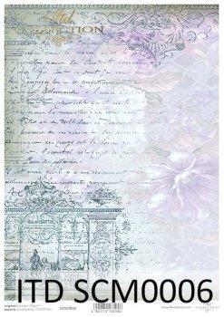 Скрапбукинг бумаги SCM0006