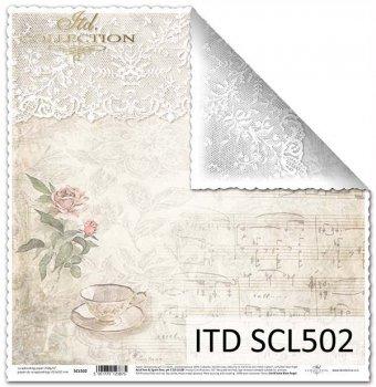 Бумага для скрапбукинга SCL502