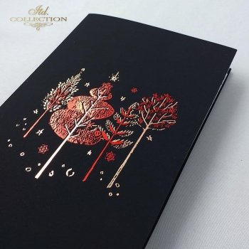 Рождественская и Новогодняя открытка K631