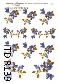 рисовая бумага для декупажа R0139