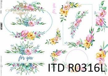 рисовая бумага для декупажа R0316L