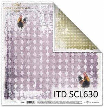 Бумага для скрапбукинга SCL630