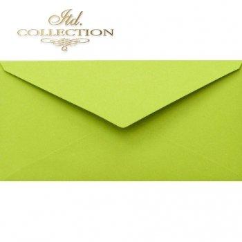 Конверт KP06.16 110x220 зеленый