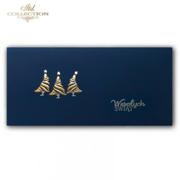 Рождественская и Новогодняя открытка K590